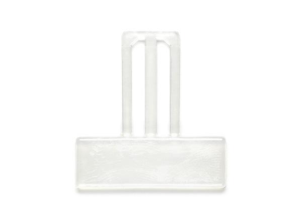 Support rectangulaire à moyen passant Cristal