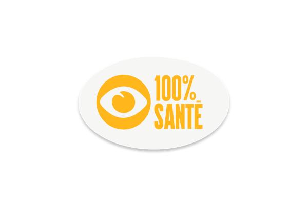 Étiquettes électrostatiques 100% santé - Optilook